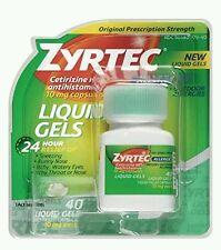 Zyrtec Liquid Gels, 52 Count ( See description before buy)