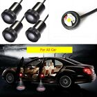 4pcs For All Car 5W Projector Laser LED Door Welcome Step Shadow Logo Light Lamp