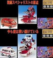 Transformers G1 Takara Encore IRONHIDE & RATCHET collectable toy xmas gift