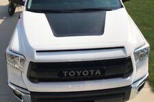 2014-2018 Toyota Tundra Hood Decal Graphic BLACKOUT - MATTE BLACK