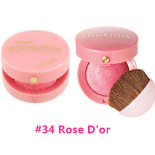 TWO Bourjois Little Round Pot Blush 34 Rose D'or, Made in France FREE SHIPPING