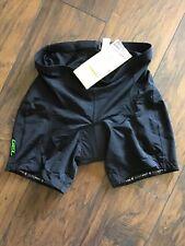 Canari Vortex Gel Padded Shorts Women's Biking Cycling Black Sz Xl #2045 Nwt E3