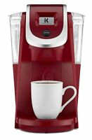 Keurig K200 Plus Single-Serve K-Cup Coffee Maker Imperial Red Refurbished (K250)