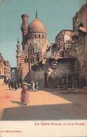 Postcard Mosquee Rue de La Citadelle Cairo Egypt