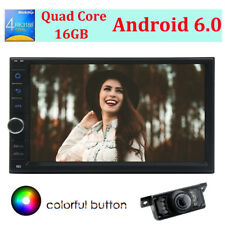 """Double 2din 7 """"Android 6.0 GPS auto Radio stereo NO DVD WIFi 4G DAB + camera"""