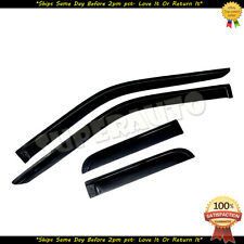 For 2015-2018 F-150 SuperCab Smoked Vent Window Visors Rain Guards
