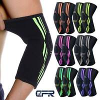 Copper Compression Elbow Support Brace Sport Joint Pain Arthritis Sprains Sleeve