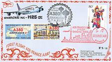 """A380-229T3 FFC CHINA """"Airbus A380 Air France - 1st Flight Shanghai-Paris"""" 2013"""