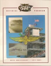 2001 Indianapolis 500 Program Helio Castroneves Marlboro Team Penske