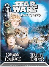 Star Wars - Ewok Adventures - Caravan Of Courage / Battle For Endor (DVD, 2005)