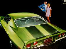 1970 CHEVY CAMARO Z/28 ORIGINAL AD - 350/396/v8 engine/door/hood/scoop/SS/RS/Z28