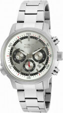 Invicta Specialty 19239 Men's Round Analog Chronograph Date Silver Tone Watch
