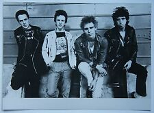 The Clash Rare Publishing Photo Great Bank Pic Punk Damned Pistols