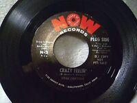 ROBB FORTUNE - Crazy Feelin'/Sweetheart of Mine - 60's Soul PROMO N. Mint