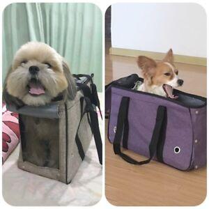 Folding Pet Dog Portable Travel Carrier Tote Cage Bag Holder Crate Large Fashion