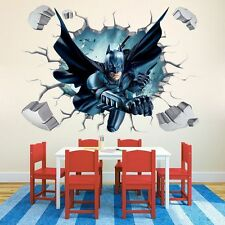 Cool Batman Art Vinyl Wall Stickers Wall Decals Mural Kids Nursery Home Decor