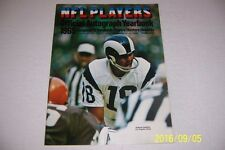 1969 NFL Autograph Yearbook BART STARR Johnny UNITAS Gale SAYERS Dick BUTKUS