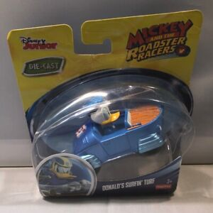Disney Junior Die-Cast Mickey And The Roadster Racers Donalds Surfin Turf BNFS