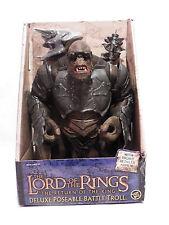 Lord of the Rings Return King Battle Attack Troll Roto RARE Hobbit ToyBiz