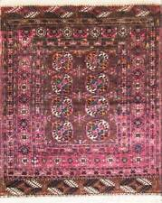 "2'10"" x 3'8"" Antique Fine Tekkeh Turkoman Rug,Excellent condition,c-1900 #16231"