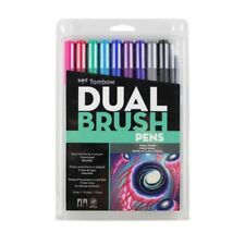 Tombow Dual Brush Pen Art Markers, Galaxy 10-Pack, Brand New Sealed Pack!