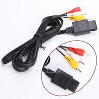 AV Audio Video A/V TV Game Cable Cord for Nintendo 64 N64 GameCube NGC SNES SFC