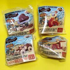 McDonald's - Happy Meal Hanna Barbera The Flintstones Movie Toys 1994 - Complete