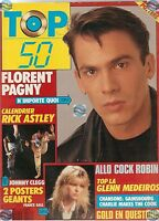 Magazine TOP 50 112 complet GALL PAGNY JOHNNY CLEGG MEDEIROS GOLD RENAUD MYLENE.