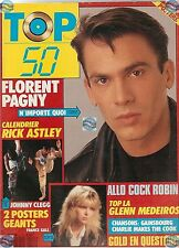 REVUE : TOP 50 112 complet GALL PAGNY JOHNNY CLEGG MEDEIROS GOLD RENAUD MYLENE.