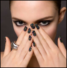 Sticker Ongle Autocollant Nail Manucure Crystal 3D 16 pcs Effet Strass