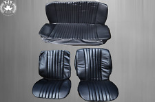 Seat Covers Covers for VW Beetle 1300 - 1303 Saloon, Black with Perforation New