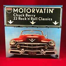 CHUCK BERRY Motorvatin' 1977 UK Vinyl LP EXCELLENT CONDITION best of greatest