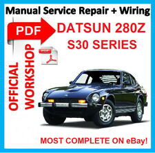 #OFFICIAL WORKSHOP MANUAL service repair FOR DATSUN 280Z S30 SERIES 1989 - 1994*
