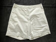 "Nike Golf  Beige Casual Chino Shorts Size 14 7"" Inseam"