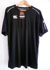Canterbury of New Zealand Men's Ionx Elite Technical Dry Tee Black Size Large