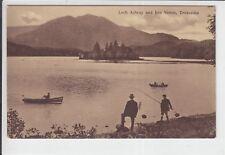 AK Scotland, Loch Achray and Ben Venue, Trossachs, ca. 1920