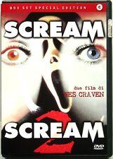Dvd Scream box set - Special Edition 2 dischi di Wes Craven Usato raro