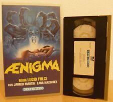 VHS ex-noleggio - AENIGMA - Lucio Fulci - DELTAVIDEO - RARISSIMO !!!