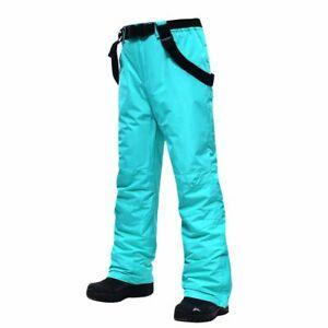 Ski Pants Men Women Outdoor Windproof Waterproof Trousers Winter Ski Snowboard