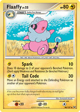 Flaaffy Uncommon Pokemon Card Pt1 Platinum 48/127