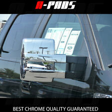 For 2009-2011 2012 2013 2014 FORD F-150 F150 FULL Chrome Towing Mirror COVERS