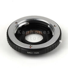 Camera Adapter For Minolta MD Lens To Nikon D750 D810 D610 D600 D800 D700 D300