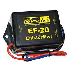 SinusLive EF-20 Entstörfilter Autoradio 20A 12V Radio KFZ Filter Funkgerät Strom