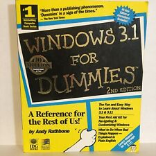 Windows 3.1 For Dummies, A Reference For The Rest Of Us! Andy Rathbone Good PB