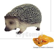 Hedgehog Cute Animal 4D 3D Puzzle Realistic Model Kit Toy