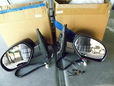 Chevy /GMC Power Side Towing Mirrors / Puddle Light / Manual Fold / Black Finish