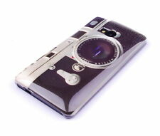 Hülle f HTC One M7 Schutzhülle Tasche Case Cover Handy Kamera Camera Fotoapparat