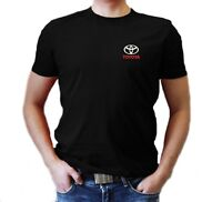 Toyota T-Shirt MENS Polo Embroidered logo  Auto Car Gift Clothes Shirt