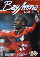 Programm 2002/03 Bayer 04 Leverkusen - VfB Stuttgart