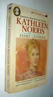 Family Gathering, Kathleen Norris,  Paperback Autobiography Good